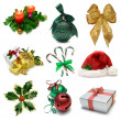 Christmas Objects Sampler — Stock fotografie