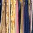Display of fabric of many colors — Stock Photo #12492611