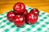 Group of Rome Beauty apples — Stock Photo