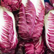 Radicchio on display at the market — Stock Photo