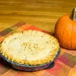 Turkey pot pie with pumpkin — Stock Photo #17869369