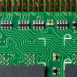 Detail of printed circuit board — Stock Photo #18245543