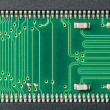 Stock Photo: Detail of printed circuit board