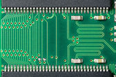 Detail of a printed circuit board — Stock Photo