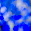 Blue out of focus background — Stock Photo