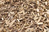 Large pile of split firewood — Stock Photo