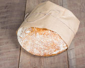 Loaf of fresh baked bread — Stock Photo