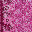 Beautiful pink batik patterns that become traditional clothes ma — Stock Photo #18246945