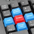 Stock Photo: Term of payment concept on keyboard