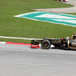 Stock Photo: SEPANG, MALAYSI- MARCH 24 : Lotus-Renault Team driver Kimi Rai
