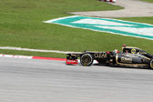 SEPANG, MALAYSIA - MARCH 24 : Lotus-Renault Team driver Kimi Rai — Stock Photo