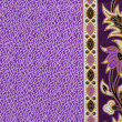 Beautiful batik patterns that become border or frame for text sp — Stock Photo #18839145