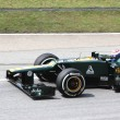 Foto Stock: SEPANG, MALAYSI- MARCH 23: Finnish RussiVitaly Petrov is re