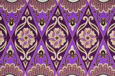 Beautiful batik patterns that become traditional clothes malaysi — Stock Photo