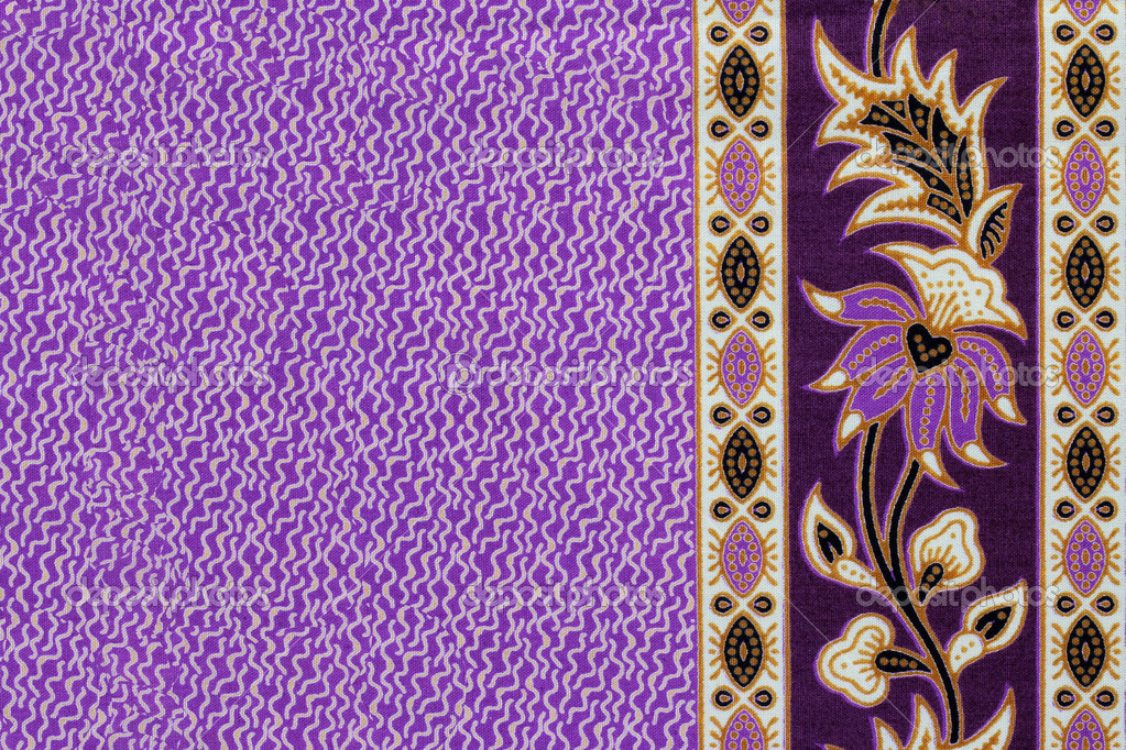 Beautiful batik patterns that become border or frame for ...