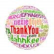 Thank you concept word in many languages of the world. — Stock Photo #32793187