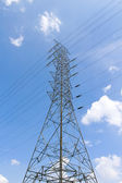 Post elétrica — Foto Stock