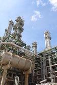 Petrochemical plant petrochemical plant — Stock Photo