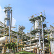 Stock Photo: Oil and chemical factory