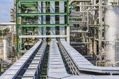 Fabbrica di olio e chimico — Foto Stock