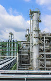 Oil and chemical factory — Foto Stock