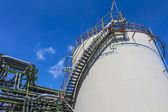 Stoccaggio serbatoio olio e chimico — Foto Stock