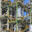 Oil and chemical factory — Stock Photo