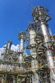 Fábrica de aceite y productos químicos — Foto de Stock