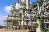 石油和化学工厂 — 图库照片