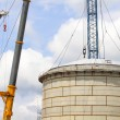 Storage tank construction — Stock Photo #14794521