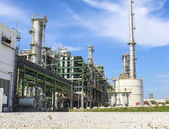 Petro and chemical plant — Stock Photo