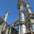 Structure of Petroleum and chemical plant - Stock Photo