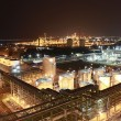 Lighting of Petrochemical factory in night Time — Stock Photo #19067109