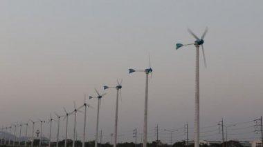 Wind turbines - Green energy — Stockvideo