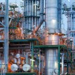 Stock Photo: Petrochemical factory