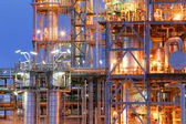 Structure of chemical plant — Stock Photo