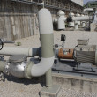 Stock Photo: Electrical pump station