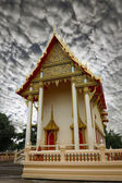 Buddism temple - Public location in Thailand — Stock Photo