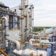 Stock Photo: Structure of oil and chemical plant