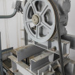 Pulley with machine — Stockfoto