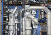 Production area in industrial plant — Stock Photo