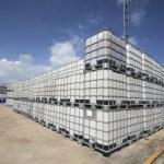 Plastic chemical tank — Stock Photo #34627075