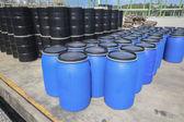 Chemical tank storage — Stock Photo