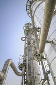 Oil and chemical industrial plant — Stock Photo