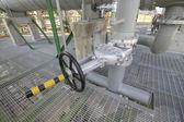 Big handle valve — Stock Photo