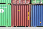 January 18 , 2014 Laem Chabang Port , Container wait for deliver — Stock Photo