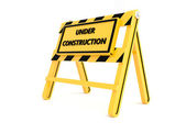 3d em construção — Foto Stock
