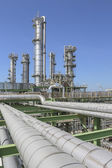 Oil and chemical refinery factory — Foto de Stock