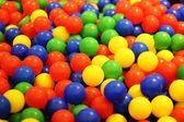 Bollar med olika färg — Stockfoto