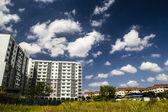 Nuages dans le ciel bleu — Photo